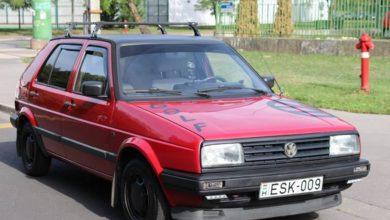 Photo of VW Golf a MERKUR-ból