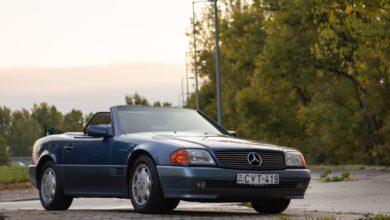 Photo of Mercedes-Benz 300 SL-24 (R129) teszt – nappali hat hengerrel