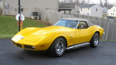 Photo of Chevrolet Corvette Stingray, 1973-ból
