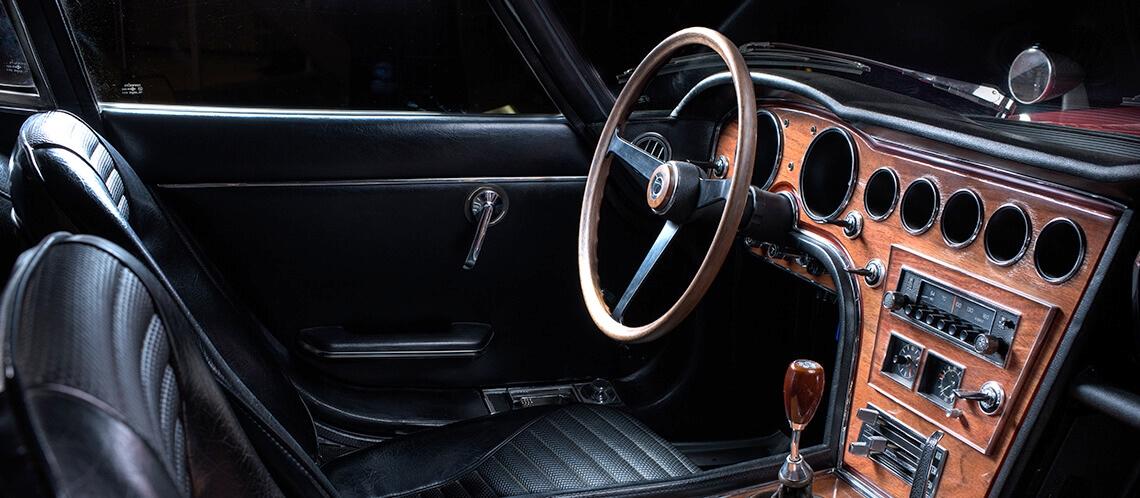 Toyota 2000GT belső