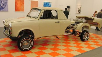 Photo of El Trabino – Trabant lowrider