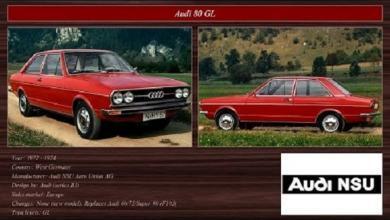Audi 1971-1975
