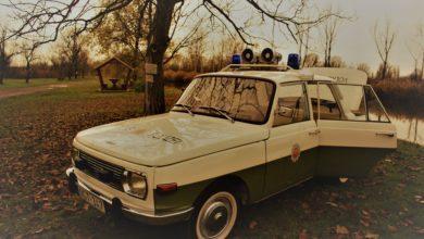 Photo of Versenyautó helyett rendőrségi jármű lett a Wartburgból