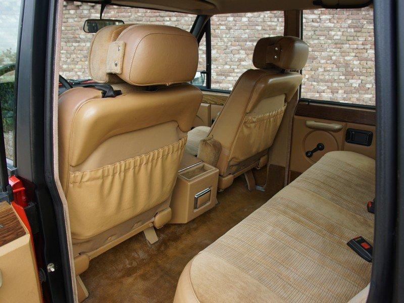 Land Rover Range Rovel belső