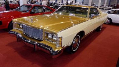 Photo of Mercury Grand Marquis Gold Coupe