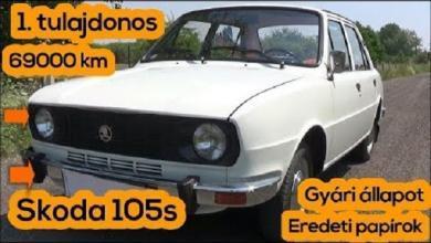 Photo of Skoda 105 s (1977) | BEMUTATÓ | EGY tulajos, 42 éves autó amely 69000 km-t futott