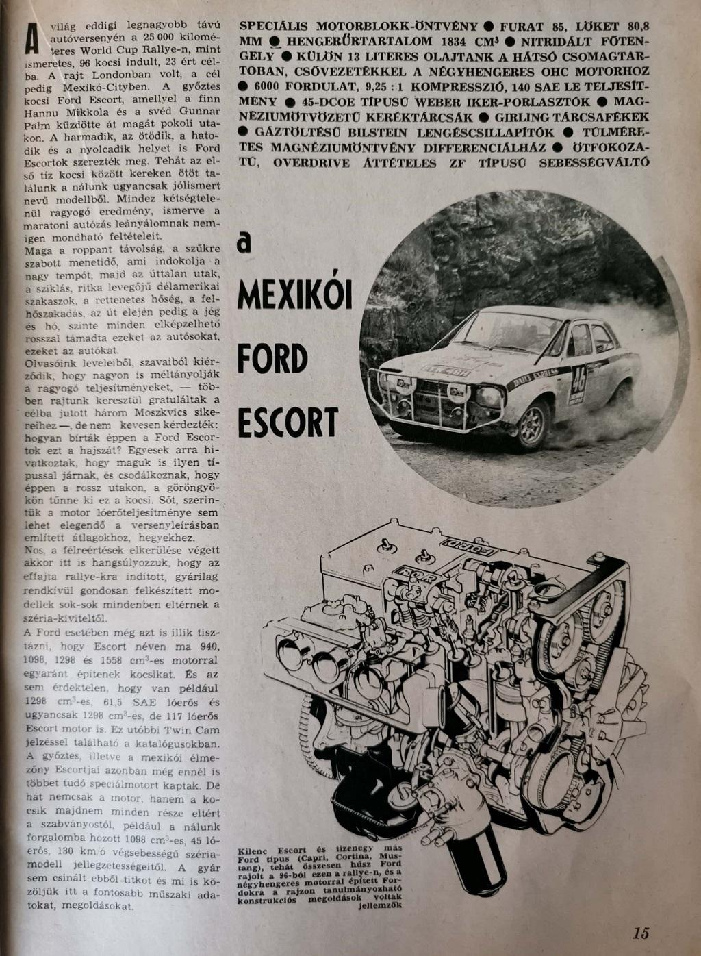 a Mexikói Ford Escort