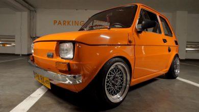 """Photo of Polski Fiat 126p """"Fanta"""""""