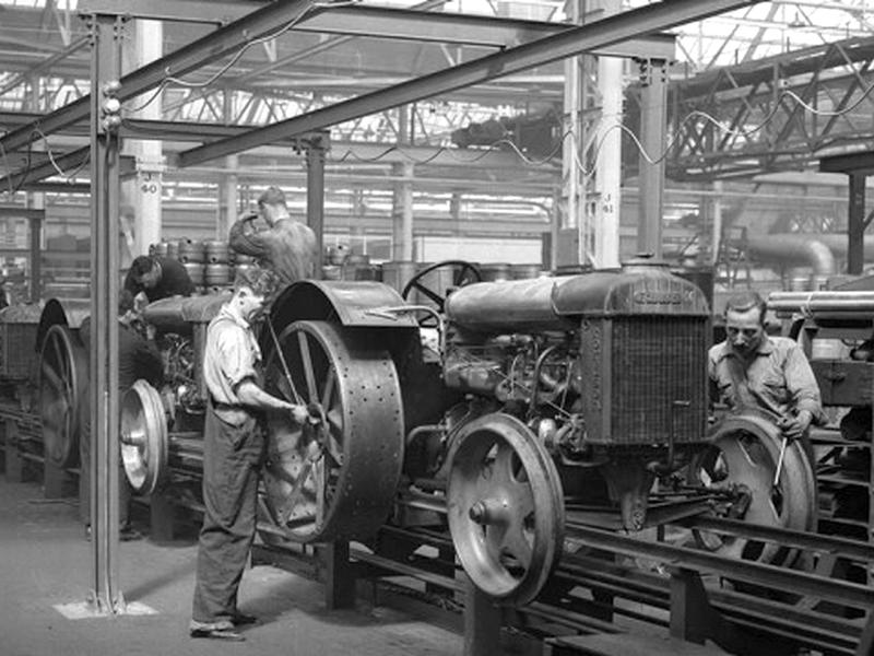 Fordson traktor