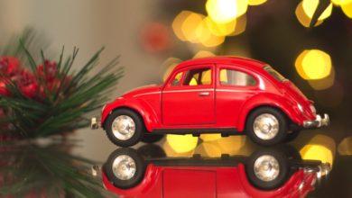 Autós karácsonyfadíszek