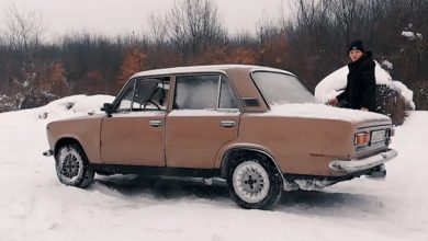 Photo of Lada 1200S a hóban