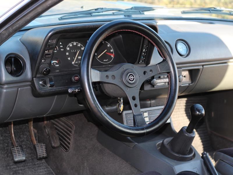 Opel Manta B műszerfal