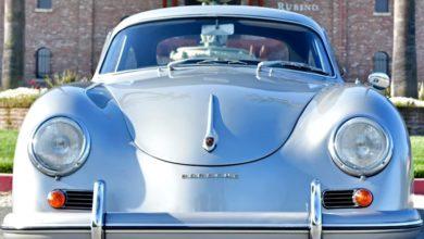 Photo of Porsche 356A Coupe Silver (1956)