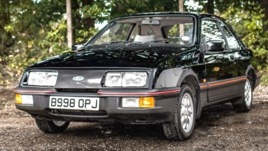 Photo of Ford Sierra XR4i reklám 1984-ből