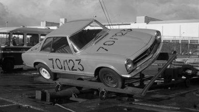 Photo of Mercedes-Benz biztonsági tesztek a '70-es évekből