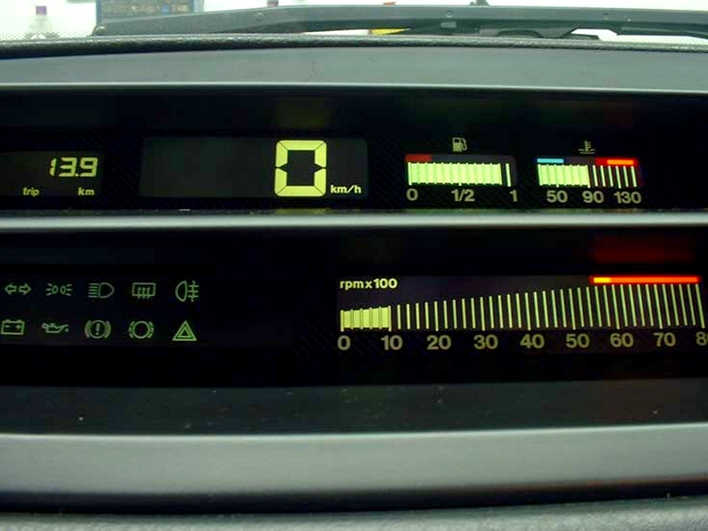 Fiat Tipo digitális műszerfal