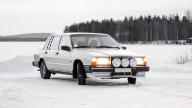 "Photo of Volvo 740 ""hóverseny"""
